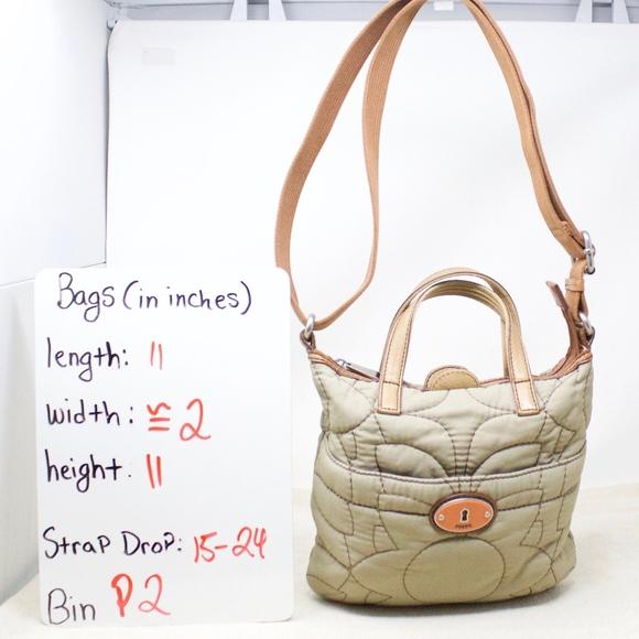 Fossil Handbags - Fossil Key Per Crossbody Convertible Purse Bag